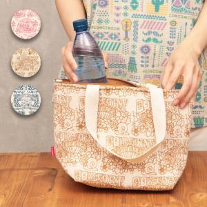 ◆商品について◆  70年代を彷彿させる、ヒッピー柄がプリントされた保冷バッグ☆ 暑い日のお買い物や...
