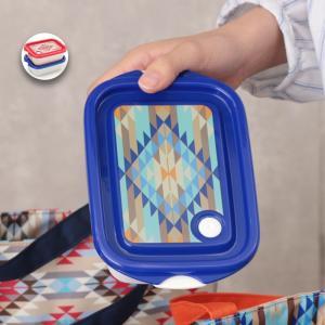 タッパー コンテナボックス 保存容器 ランチボックス お弁当箱 電子レンジ対応 かわいい カラフル ...