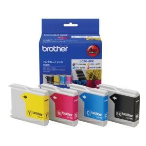 【brother純正】インクカートリッジ4色パック LC10-4PK 対応型番:MFC-5860CN、MFC-880CDN/CDWN、MFC-870C tiver