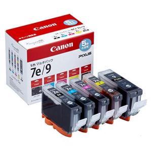 Canon インクタンク BCI-7e 4色 (BK/C/M/Y) +BCI-9BK マルチパック BCI-7E+9/5MP tiver