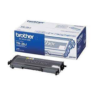 ブラザー工業 【brother純正】トナーカートリッジ TN-26J 対応型番:HL-2170W、HL-2140、MFC-7840W、MFC-7340 tiver