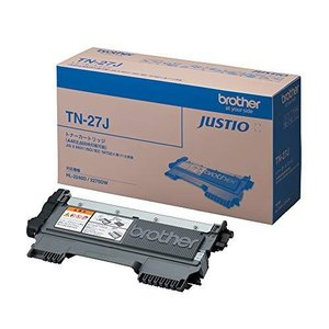 ブラザー工業 【brother純正】トナーカートリッジ TN-27J 対応型番:MFC-7460DN、DCP-7065DN、DCP-7060D、FAX tiver