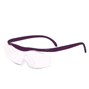 メガネのように耳にかけて使用できる拡大鏡・ルーペです。虫眼鏡のように手に持つ必要がありません。両手が...