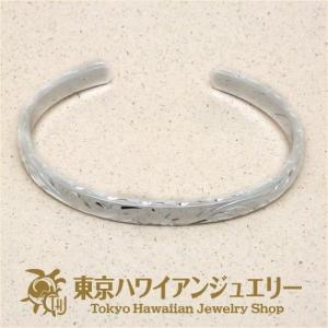 ヘビーウエイト2.5mm厚x6mm幅シルバー925バングル /東京ハワイアンジュエリー|tk-hawaiianjewelry
