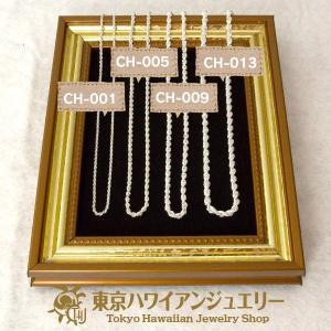 シルバーロープチェーン( 40cm ) / 東京ハワイアンジュエリー|tk-hawaiianjewelry