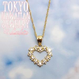 満足度200%!!キラキラジルコニア付★ゴールドジュエリー|tk-hawaiianjewelry
