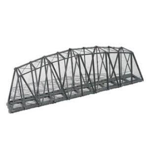 カトー  BN18 ハック ブリュッケン 曲弦トラス鉄橋(単線) グレー|tk-store777