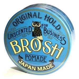 BROSH (ブロッシュ) BROSH POMADE UNSCENTED/BIZ 115g 水性ポマ...