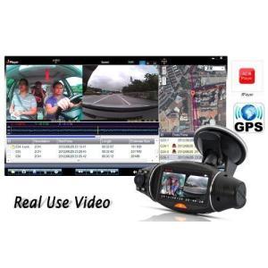 新製品 GPS搭載 GoogleMAP連動 2.7型ディアルレンズドライブレコーダー