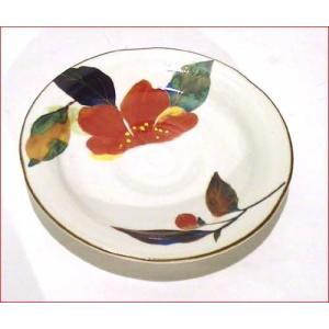 コーヒー碗皿 (カップ&ソーサー) スプーン付 「花かいろう」・山茶花 0611-11|tkcollection|03