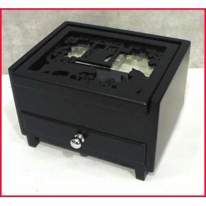 木製 アクセサリーケース 黒猫(ブラックキャット) 小さなボ...
