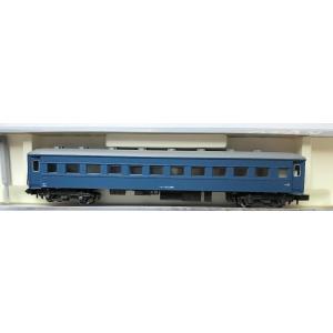 国鉄を代表する客車形式のひとつです。 昭和14年(1939)に折妻・丸屋根、1メートル幅の客室窓、T...