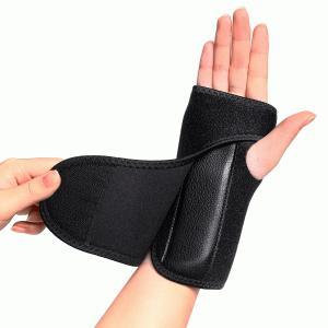 伸縮性の高い素材と自由自在な締め付け調整が可能な手首固定サポーターです。 生地全体がマジックテープの...