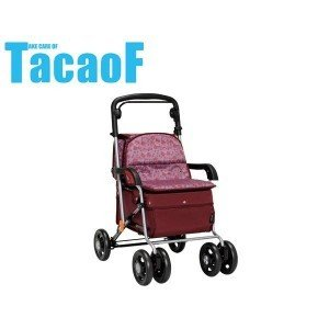 テイコブ(TacaoF) シルバーカー(スタンダードタイプ) カウートII ワインレッド SIST04|tkp