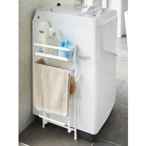 洗濯機横マグネット収納ラック プレート ホワイト 3309|tkp