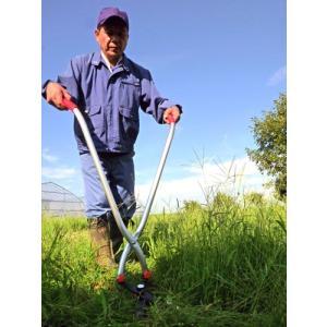 立ち作業用草刈りハサミ  egg|tkp