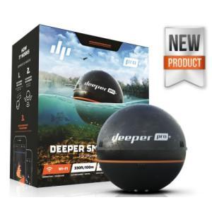 GPS付ソナー魚探 ディーパー プロプラス Deeper Smart Sonar PRO+ Wi-Fi|tks
