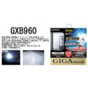 カーメイト デュアルクス パーフェクトスカイ D4R/Sバーナー6000ケルビン | H.I.D.バーナー GXB960|tks