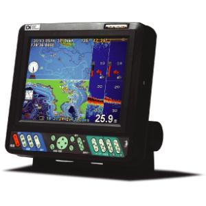 ホンデックス HONDEX 8.4型GPS内蔵プロッターデジタル魚探 HE-81GP2-Di 振動子TD25仕様(トランサム取付可能)|tks