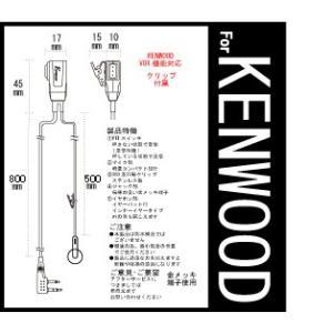 ケンウッド 特定小電力トランシーバー インカム...の詳細画像1
