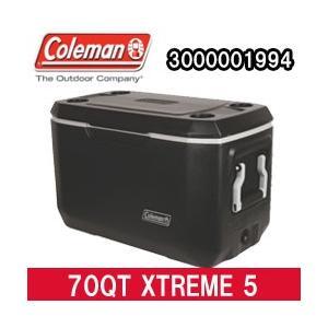 コールマン クーラーボックス 70QT エクストリーム 5 クーラー ブラック(3000001994)|tksports