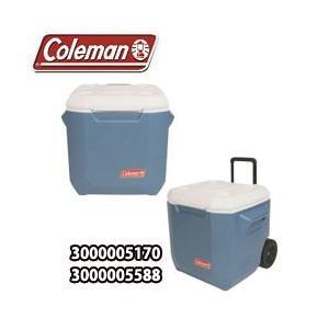 コールマン クーラーボックス 40QT エクストリーム 4 ホイールクーラー ブルー(3000002115)|tksports