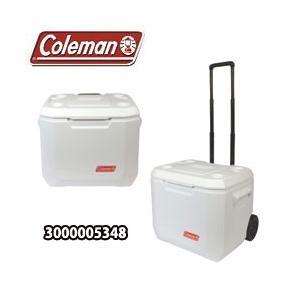 コールマン クーラーボックス 50QT エクストリーム 5 ホイールクーラー マリン ホワイト(3000005348)|tksports