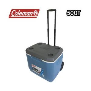 コールマン クーラーボックス 50QT エクストリーム 5 ホイールクーラー (3000005889)|tksports