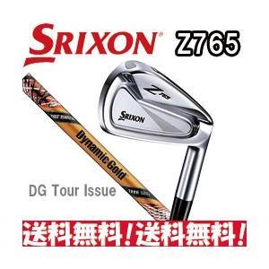 ダンロップ スリクソン Z765 アイアン 6本セット(#5I〜Pw) ダイナミックゴールド TOUR ISSUE Design Tuning シャフト装着 日本正規品|tksports