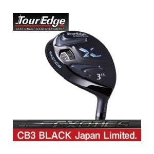 ツアーエッジ  エキゾティックス CB3 ブラック フェアウェイウッド 日本限定モデル tksports