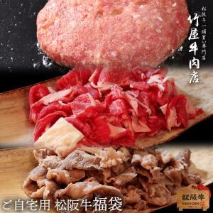 松阪牛 福袋 ハンバーグだね 小間切れ ボイルすじ 2.8kg ハンバーグ すき焼き しゃぶしゃぶ( 霜降り 黒毛和牛 ギフト お年賀 焼肉 肉 景品  :)|tkyg29