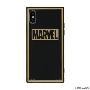 iPhone X/Xs  MARVEL TILEケース/ロゴ/ブラック/グリッター tl-star