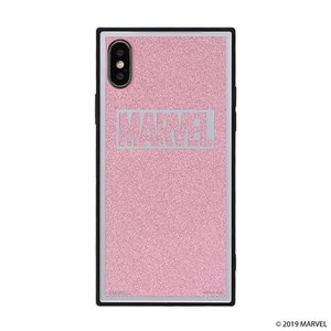 iPhone X/Xs  MARVEL TILEケース/ロゴ/ピンク/グリッター tl-star
