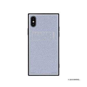iPhone X/Xs  MARVEL TILEケース/ロゴ/シルバー/グリッター tl-star