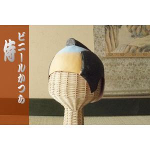 「ビニールかつら・K1 侍-Samurai-」 時代劇-侍 がんばれ日本・日本代表応援グッズ [ギフトラッピング可] tl-star