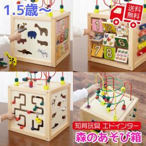 知育玩具 エド・インター 森のあそび道具 森のあそび箱 1.5歳から 誕生日プレゼント ギフト用 学習 教育玩具|tl-star