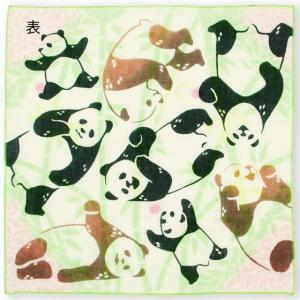 kenema 注染ハンカチ ゆめ食いパンダ EAWASE 手拭い 日本手拭い 和柄 コットン 日本製|tl-star