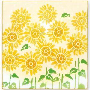 kenema 注染ハンカチ たいようの花 EAWASE 手拭い 日本手拭い 和柄 コットン 日本製|tl-star
