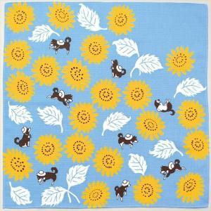 kenema 小風呂敷 『夏の散歩』 一三巾(いちさんはば)  50 cm巾 手捻染 お弁当 ランチョンマット tl-star