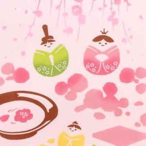 kenema 注染手ぬぐい あられ雛 ひな祭り 手拭い 日本手拭い 和柄 コットン 日本製|tl-star
