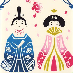 kenema 注染手ぬぐい 花雛  ひな祭り 手拭い 日本手拭い 和柄 コットン 日本製|tl-star
