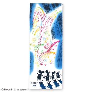 ムーミン注染手ぬぐい  ムーミン&花火  MOOMIN 手拭い 日本手拭い 和柄 コットン 日本製 tl-star