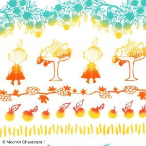 ムーミン注染手ぬぐい リトルミイ&フルーツ MOOMIN 手拭い 日本手拭い 和柄 コットン 日本製 tl-star