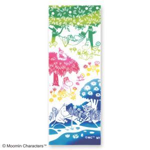 ムーミン注染手ぬぐい キャンプ  MOOMIN 手拭い 日本手拭い 和柄 コットン 日本製|tl-star