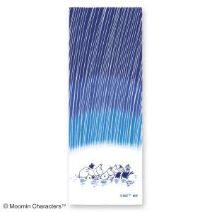 ムーミン注染手ぬぐい 雨  MOOMIN 手拭い 日本手拭い 和柄 コットン 日本製|tl-star