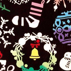 kenema 注染手ぬぐい Ornament Tree オーナメント ツリー クリスマス 手拭い 日本手拭い 和柄 コットン 日本製|tl-star