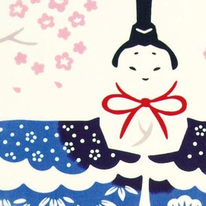 kenema 注染手ぬぐい 立雛 ひな祭り 手拭い 日本手拭い 和柄 コットン 日本製|tl-star