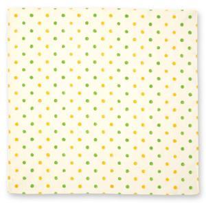 和ざらしはんかち to* ポルカドット レモン 綿100% ドライ ギフト さらさら 日本製|tl-star