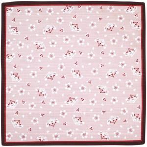 おかみさんの小風呂敷 さくら ミヤコレ 一三巾(いちさんはば) 50cm巾 手捻染 お弁当包み ランチョンマット tl-star