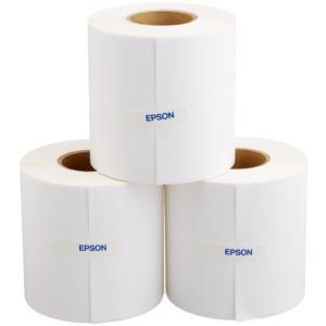 セイコーエプソン TM-C100用ラベルロール紙 90mm幅 3巻 ENL090-090|tlinemarketing